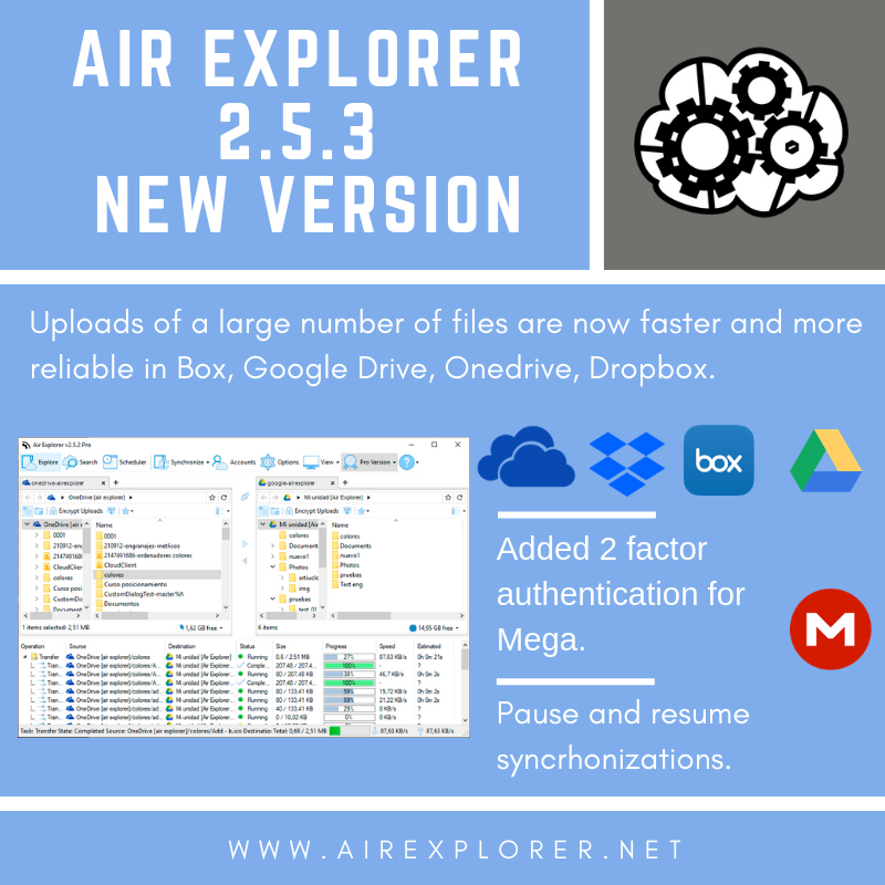 Air Explorer 2.5.3 new version