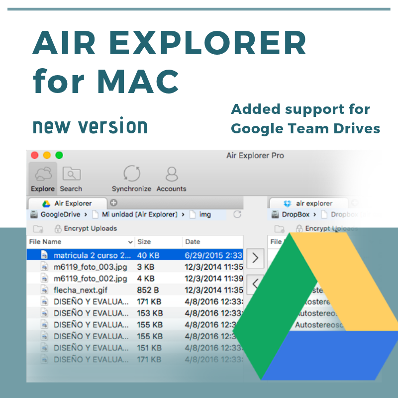 new version air explorer mac