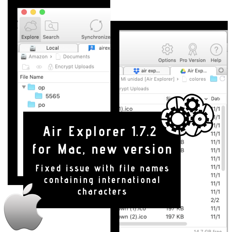 AIR EXPLORER for MAC 172